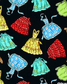 Kitchen Fashions - Retro Aprons - at eQuilter.com