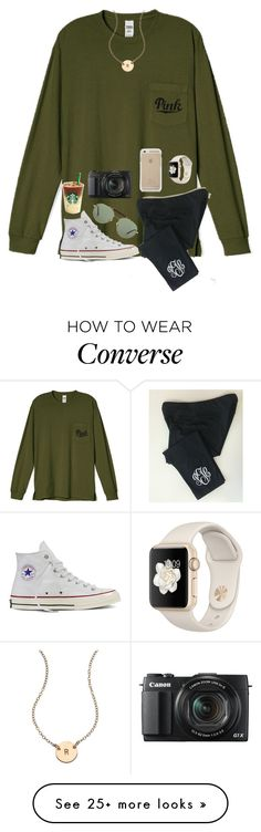 """""""Love these colors"""" by mmprep on Polyvore featuring Converse, Nashelle, Ray-Ban and G1"""