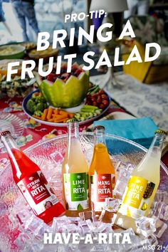 Here's an easy fruit salad recipe that is sure to be a crowd pleaser! It's easy. Grab a punch bowl, keep cool, grab the NEW glass Ritas and party! #HAVEARITA #Mix #Cool #Frozen #Simple  South Africa Food  Информация на нашем сайте   https://storelatina.com/southafrica/recipes