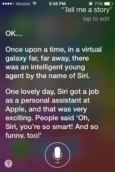 Siri's story part 1