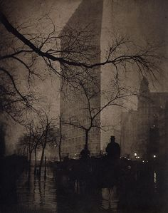 An poster sized print, approx (other products available) - NEW YORK: FLATIRON, <br>Flatiron Building, New York City: photograph, by Edward Steichen. - Image supplied by Granger Art on Demand - poster sized print mm) made in Australia Edward Steichen, Flatiron Building, Moma, Edificio Flatiron, New York City, Fine Art Prints, Framed Prints, Alfred Stieglitz, Ansel Adams