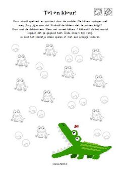 count and color crocodile School Items, Roald Dahl, Crocodile, Count, Preschool, Diy Crafts, Step By Step Drawing, Africa, Crocodiles
