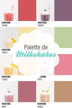One milkshake a day... Ma palette de vitamines.