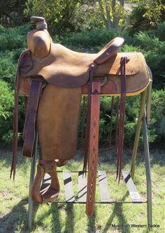Bob Marrs Handmade Saddle