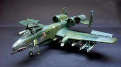 A-10A Thunderbolt II 1/48 Italeri by Adriano Souza from http://www.plastibrasil.org/