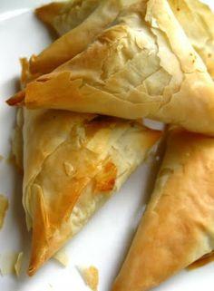 Recipe   Spanakopita ~ Spinach & Feta Pie #appetizer #recipe