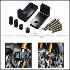 Front Axle Fork Sliders Fit Suzuki GSX-R 600 750 GSXR 1000 1300R Hayabasa 08-11