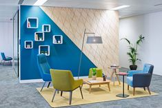 These modern and colorful offices belonging to the transport company Uber, and that are located in the city of London, England, were recently designed by the architectural firm Denton Associates. They cover an area of 10,000 square feet in which the architects created a design with a mixture of color palettes and decorative patterns that …