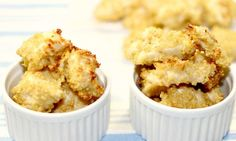 If you like popcorn chicken but like to keep it healthy, try this recipe using quinoa instead of breadcrumbs and oven baking instead of deep frying. Perfect.