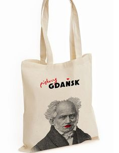Wyszukana torba z Arturem Schopenhauerem. #wyszukane, #schopenhauer, #gdansk, #domenapubliczna, http://szukamy.org/artur-schopenhauer