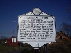 Morgan Cabin Rt 24 Morgan County   N 39° 19.903 W 078° 06.318