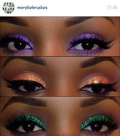 Morphe brushes: these colors are like BAM!