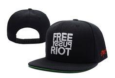 Cheap hotsale SSUR Pussy Riot Black Snapback caps pop Fashion men s Casual Adjustable  hats  6 pc 344158dfd6af