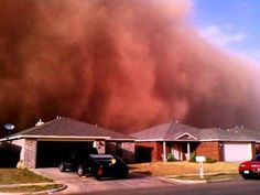 Posted at 10:01 AM ET, 10/18/2011  Texas dust storm, biggest in U.S. in decades, turns sky red and black (videos)