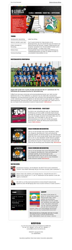 #Newsletter-Entwurf #Agentur #Template #Emailmarketing