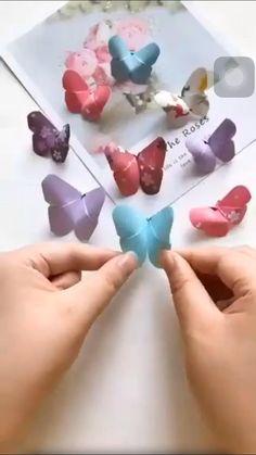 Diy Crafts Hacks, Diy Crafts For Gifts, Diy Arts And Crafts, Diy Crafts Videos, Creative Crafts, Cool Paper Crafts, Paper Crafts Origami, Diy Paper, Mothers Day Crafts For Kids