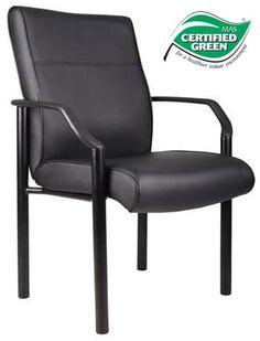 Boss LeatherPlus Guest Chair B689