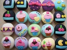 cupcakes ideas. @ Cristina Madrigal