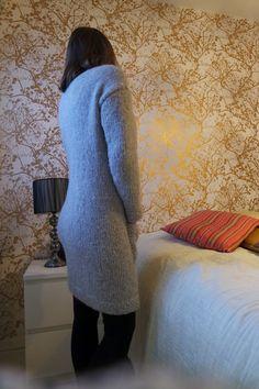 RullaatiRullaa: Vilukissan villatakki High Neck Dress, Smoothie, Sweaters, Dresses, Fashion, Turtleneck Dress, Vestidos, Moda, Fashion Styles