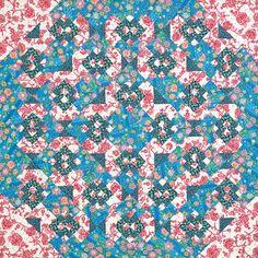 This version is by Associate Editor Eileen Fowler. Fabric: Lark by Amy Butler for Rowan Fabrics; westminsterfabrics.com.