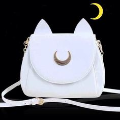 Hey, I found this really awesome Etsy listing at https://www.etsy.com/listing/235836005/sailor-moon-luna-shoulder-bag-black-or