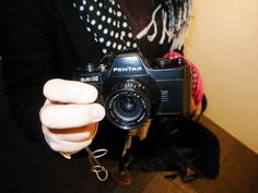 Pentax Auto 110, another sweet little camera.