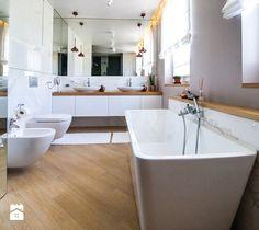 Projekt domu szeregowego - Łazienka - zdjęcie od Biuro projektowe Joanna Karwowska