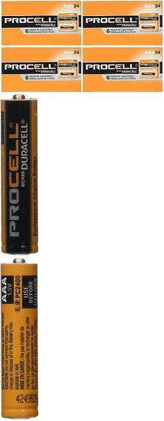 Single Use Batteries: New Duracell Procell Aaa Batteries, Pack Of 96, Professional Alkaline Battery BUY IT NOW ONLY: $30.06