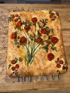 A friend's focaccia : Baking Aperitivos Finger Food, Bread Recipes, Cooking Recipes, Cooking Ideas, Lasagna Recipes, Carrot Recipes, Lentil Recipes, Ham Recipes, Spinach Recipes