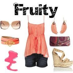 Fruity, created by jesshehr on Polyvore