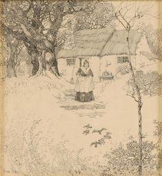 Franklin Booth Original Pen/Ink Illustration Art