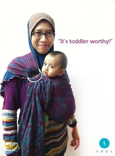 """I received my limited edition handloom soul sling and it reached Malaysia faster than expected! It's grippy and definitely toddler worthy. It doesn't need too much adjustment too. It will take me some time to soften the sling. I love the vibrant colour "" - Seha Kakyong"