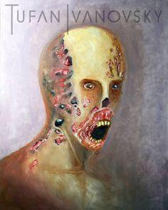 Ein Herz für Zombie's :D  Oil on Wood Panel 60 x 80  #art #painting #oilpaint #winterthur #creepy #zombie #darkart