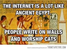 Just Like Ancient Egypt…