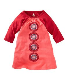 This Hibiscus Pearl River Trapeze Dress - Toddler & Girls by Tea is perfect! #zulilyfinds