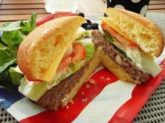 ... Hamburger on Pinterest | Burgers, Beef burgers and Burger recipes