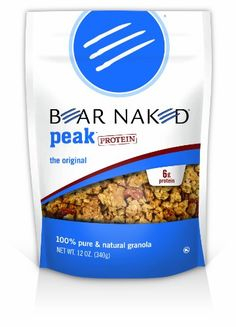Bear Naked All Natural Granola. One of my faves!