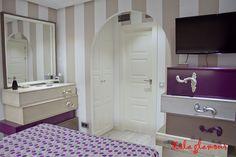 Decoracion de un piso de 40 metros cuadrados en Aravaca, Madrid. Small flat furnished with Lola Glamour Designs, in Madrid, Spain | Lola Glamour Furniture  #Furniture #Mobiliario