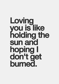 Damn. Thats like loving a bad boy! Something i find myself doing alott