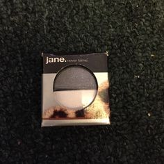 Jane eyeshadow duo Brand new in box Jane eyeshadow duo. colors are clubbing/black and white lies/ white. Must be purchased in a bundle. Will cancel order if not in s bundle Jane Makeup Eyeshadow