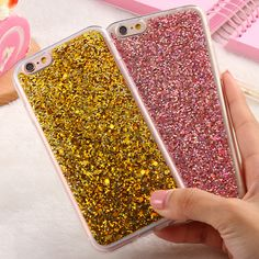 KISSCASE Luxury Phone Cases For iPhone 6 6s Case Shiny Bling Sequin Cover For iPhone 6 Plus  6s Plus Ultra Thin Protector Fundas