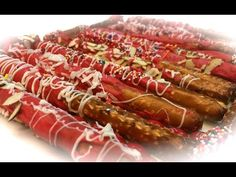 Chocolate Dipped Pretzels by Sumaiya! - YouTube