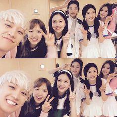 Seungri asks favor from Red Velvet! - Latest K-pop News - K-pop News | Daily K Pop News