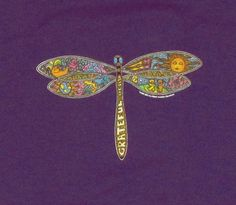 Grateful Dead dragonfly tattoo