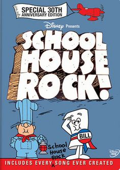 sCHOOLHOUSE ROCK!, the beloved hip yet educational series that was originally produced for ABC from 1973 to 1985, is a favorite