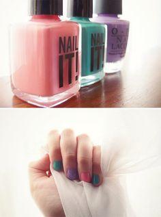 Best Nail Colour Combo