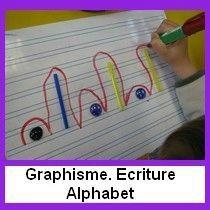 002- Graphisme Ecriture Lettres - Le tour de ma classe
