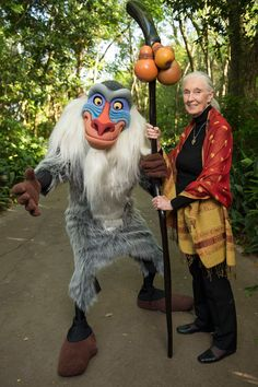 Dr. Jane Goodall helps Disney Conservation Fund launch new effort