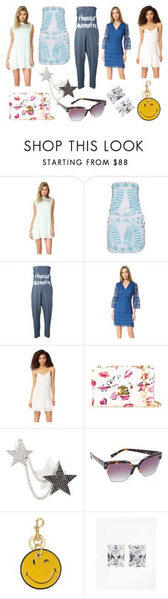 """""""Welcome To Summer"""" by donna-wang1 ❤ liked on Polyvore featuring BB Dakota, Melissa Odabash, Sold Out FRVR, Shoshanna, Ella Moss, Chanel, Nikos Koulis, Kendall + Kylie, Anya Hindmarch and Brooks Brothers"""