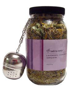 Bath By Bettijo Soothing Tub Tea, Lavender Chamomile
